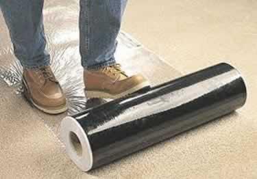 Carpet Film Plastic Protection