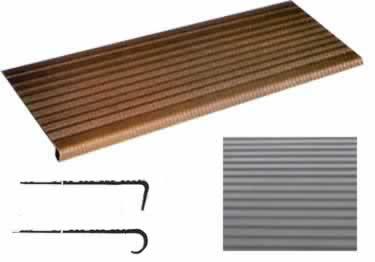 Vinyl Stair Treads | Medium Gauge