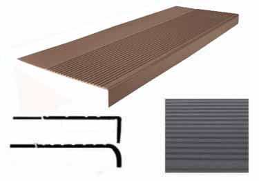 Roppe Rubber Stair Treads | Non Slip Safety Rib