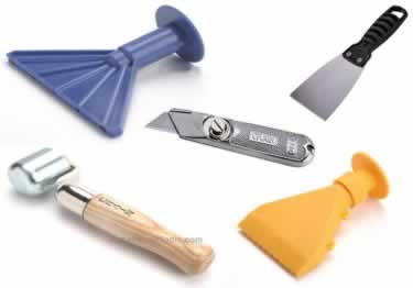 Cove Base Installation Tools