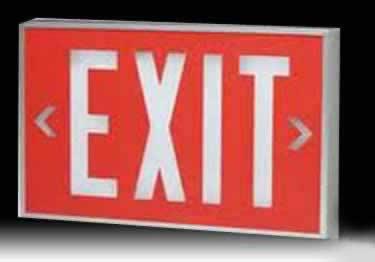 Isolite Self-Luminous Indoor Outdoor Exit Signs