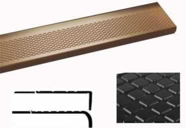 Roppe Rubber Stair Tread Non Slip Diamond Design
