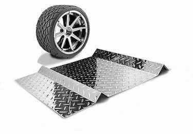 Diamond Plate Parking Spot