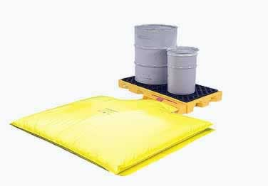 Spill Deck and Bladder System