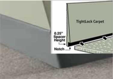 Johnsonite Tightlock Rubber Wall Base | Carpet and Floor