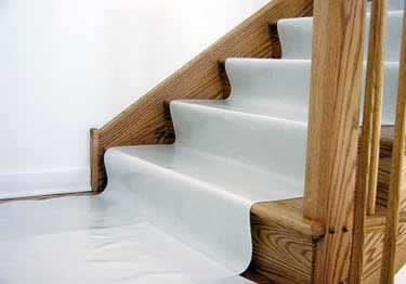 Floor and Stair Protection Film