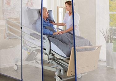 Quarantine Nursing Home Fire Retardant Barrier Film