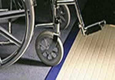 Johnsonite Wheeled Traffic Vinyl Transition Adaptors