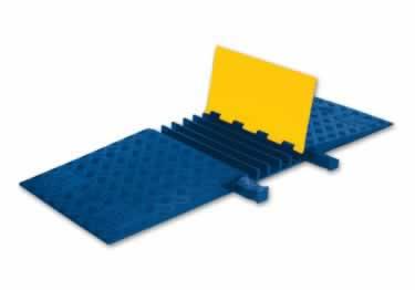 Yellow Jacket Cable Protectors 5-Channel Heavy Duty ADA/DDA
