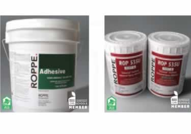 Rubber Sports Flooring Adhesive 6100 By Roppe