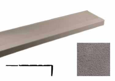 Johnsonite Stair Treads-Rice Paper Surface