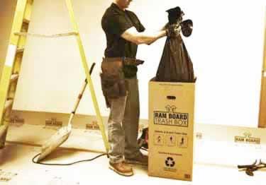 Ramboard Portable Trash Box