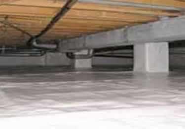 Crawl Space Vapor Barrier | Insulation