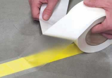 Clear Aisle Marking Protection Tape