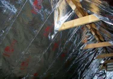 Radiant Barrier Attic Insulation | Heavy Duty