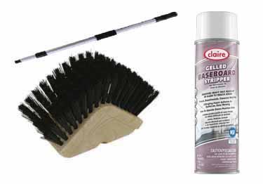 O-Cedar Baseboard and Stair Tread Brush