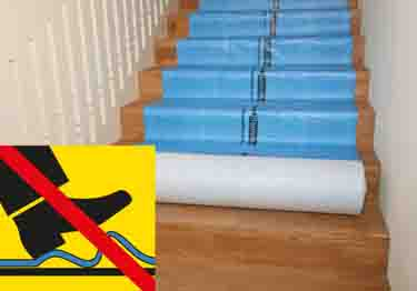Spillproof Floor Carpet Protection Padding | Breathable