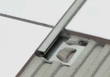 Schluter® DECO - Tile Floor Edging Profile