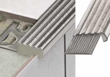Schluter®-Stair Nosing TREP-E / EK Profile
