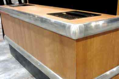 McCue® Wall Guards Stainless Steel Bumper