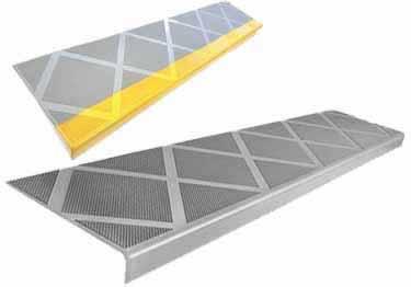Interior and Exterior Plastic Composite Stair Treads
