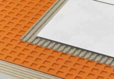 Schluter® DITRA and DITRA-XL | Waterproof Uncoupling Membrane