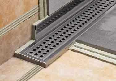 Schluter® SHOWERPROFILE R Shower Wall Transition Profiles