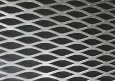 Expanded Metal Flattened Sheets | Aluminum