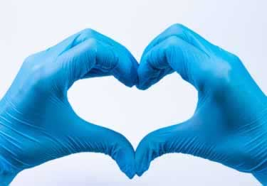 Safety Gloves   Powder-Free   Latex-Free Nitrile
