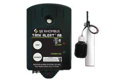 SJE Rhombus Sump Pump Tank Alert Alarm System
