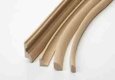 Flexible Paintable Wood Grain Small Moldings