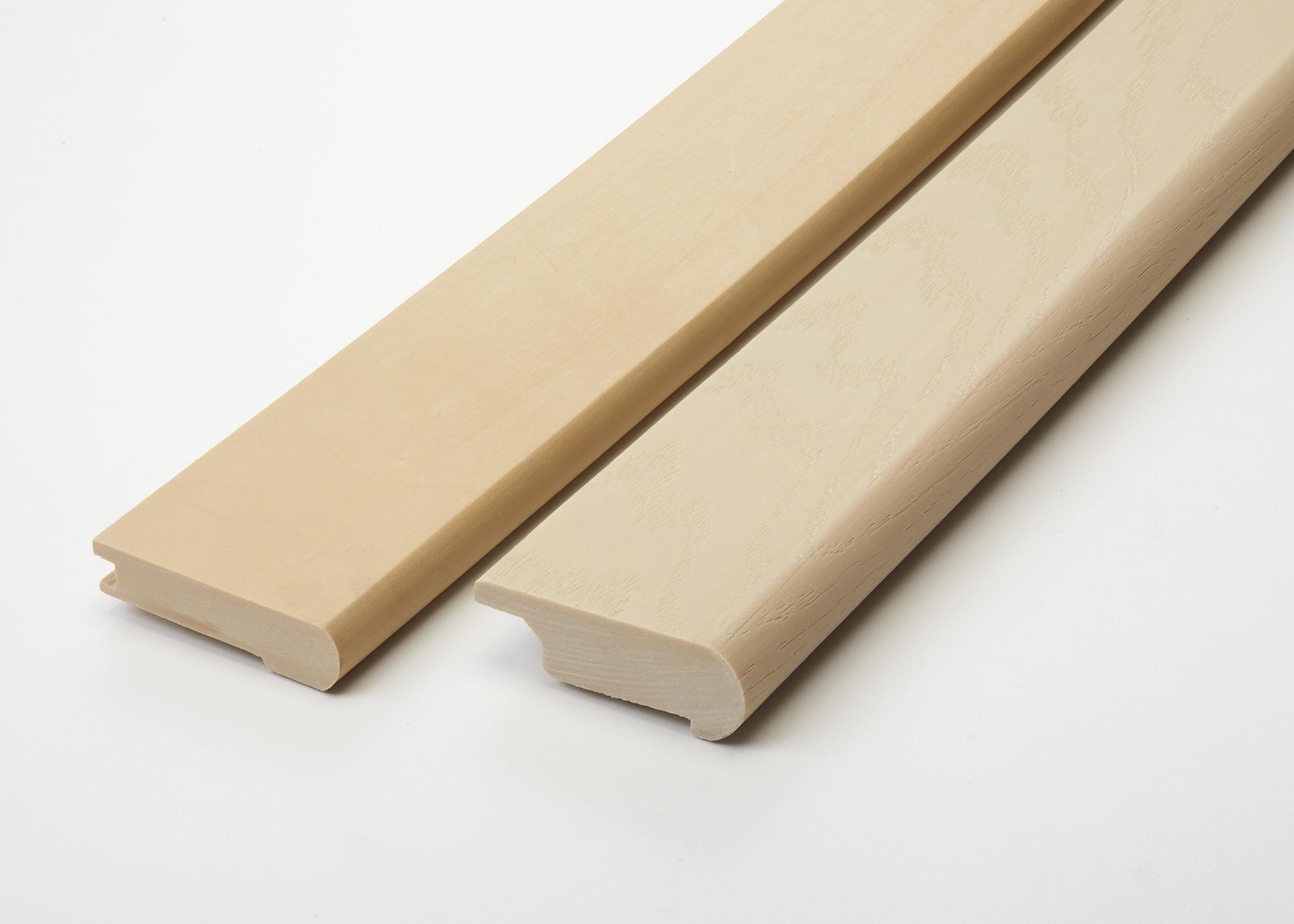 Flexible Paintable Wood Grain Stair Nosings