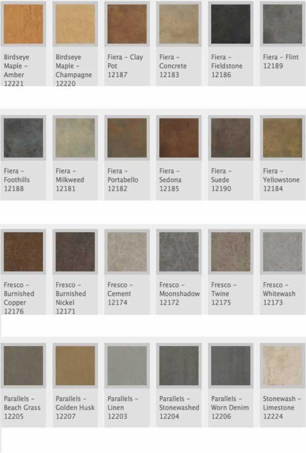 Mannington Natures Paths Select Tile Stone Concrete Metal