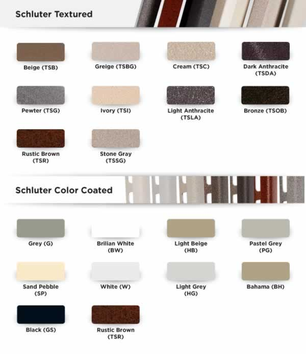Schluter®-JOLLY - Tile Edging Wall or Floor Profile - Color