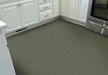 Roppe Raised Square Rubber Flooring large image 3