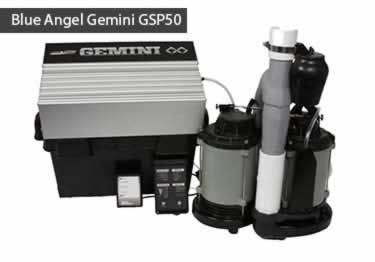 Blue Angel® Gemini GSP50 Submersible with Battery Backup Pump System  large image 1