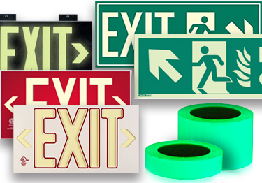 Exit and Safety Signs