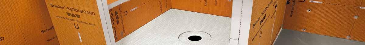 Tub Shower Kerdi Boards   Niches   Benches