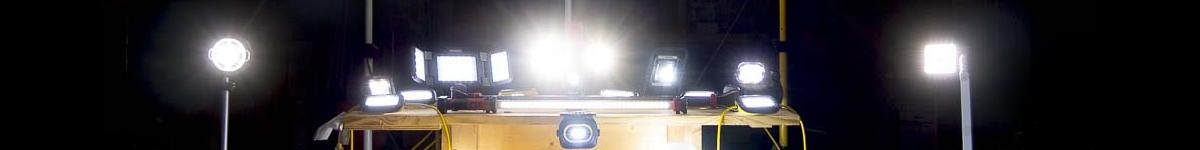 Work Lights Fluorescent & LED