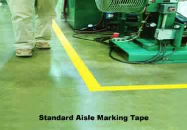 Floor Marking Tape Aisle Safety large image 2