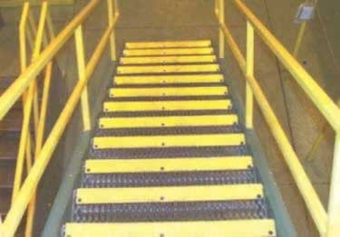 Anti Slip Stair Treads and Nosing | Fiberglass large image 12