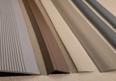 Stair Nosing Rubber Vinyl Metal