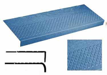 Rubber Stair Treads | Non Slip Heavy Duty Diamond  large image 5