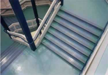 Rubber Stair Treads | Non Slip 2-Strip Abrasive  large image 6