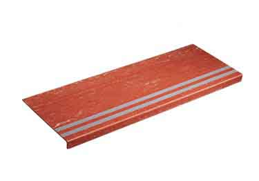 Rubber Stair Treads | Non Slip 2-Strip Abrasive large image 7