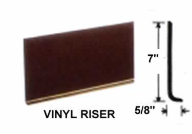 Vinyl Stair Treads | Light Gauge  large image 1