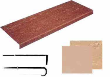 Rubber Stair Treads-Non Slip Safety Flat Surface