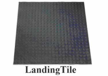 Rubber Stair Treads | Non Slip Low Profile Disc Medium Duty  large image 2
