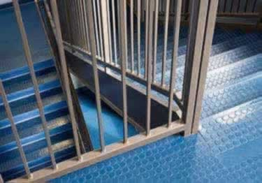 Rubber Stair Treads | Non Slip Low Profile Disc Medium Duty  large image 6