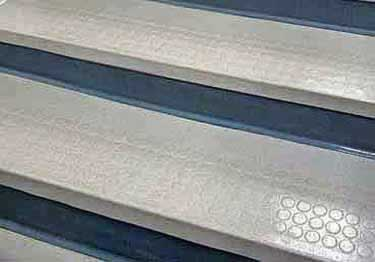 Rubber Stair Treads | Non Slip Low Profile Disc Medium Duty  large image 8